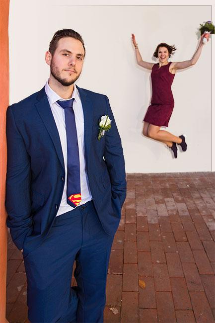 Hochzeitsfotograf mit kreativern und ungewöhnlichen Ideen